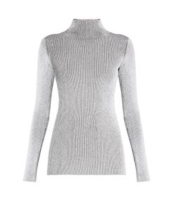 Proenza Schouler | High-Neck Ribbed-Knit Sweater