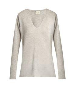 Le Kasha   Male V-Neck Cashmere Sweater