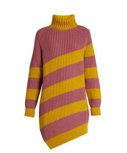 Marco de Vincenzo | Oversized Striped-Wool Sweater