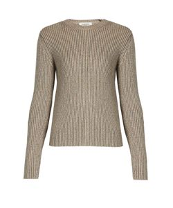 Valentino | Ribbed-Knit Wool-Blend Sweater