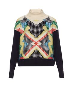 Barrie | Primary Pixels Cashmere Sweater