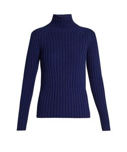 Vanessa Bruno | Franja Roll-Neck Ribbed-Knit Sweater