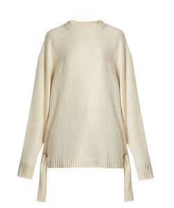 Tibi | Tie-Side Cashmere Sweater