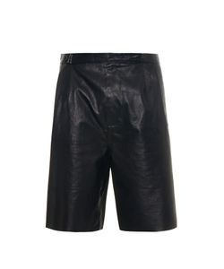 Balenciaga | Bonded Leather Shorts