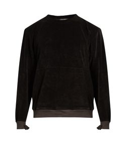 Longjourney | Nash Crew-Neck Aged Cotton-Velvet Sweatshirt