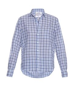 Frank & Eileen | Eileen Gingham Cotton-Chambray Shirt