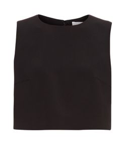 Caterina Gatta | Sleeveless Crepe Cropped Top