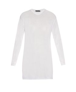 Calvin Klein Collection | Baber Long-Sleeved Cotton-Blend Jersey Top