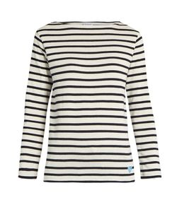 ORCIVAL | Breton-Striped Cotton Top