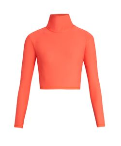 SALT GYPSY | High-Neck Cropped Performance Rash-Guard Top
