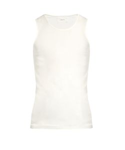 Lemaire | Scoop-Neck Cotton Tank Top