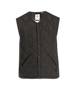 ADIDAS BY WINGS & HORNS | Insulated Sleeveless Zip-Through Top