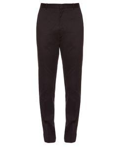 Burberry London | Slim-Leg Cotton Chino Trousers