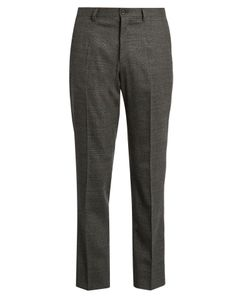 Dolce & Gabbana | Prince Of Wales-Checked Wool Trousers