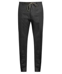 Kenzo | Slim-Leg Wool-Flannel Trousers