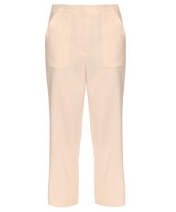 The Row | Aspha Straight-Leg Crepe Trousers