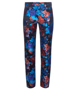 Mary Katrantzou | Cigarette Floral-Jacquard Trousers