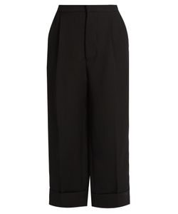 Marni | Straight-Leg Silk And Wool-Blend Trousers