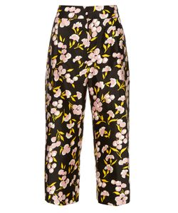 Marni | Sistowbell Floral-Print Cotton-Blend Trousers