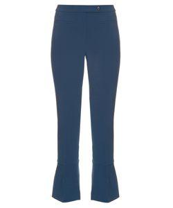 Fendi | Kick-Flare Wool-Blend Trousers