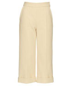 Delpozo   Wide-Leg Cropped Trousers