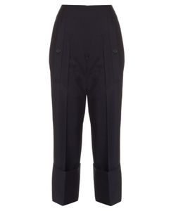 Jil Sander | Bruce Exaggerated-Cuff Cropped Trousers