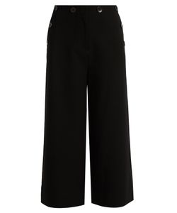 Tibi | Sailor Nerd Wide-Leg Culottes