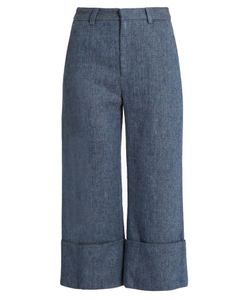 Sea | Linen-Blend Trousers