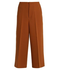 Marni | Double-Faced Wool-Crepe Culottes