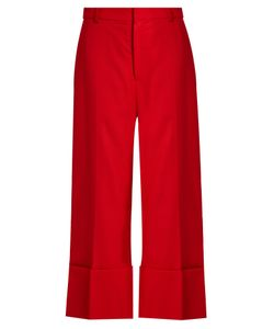 Sea | High-Rise Wide-Leg Wool Trousers