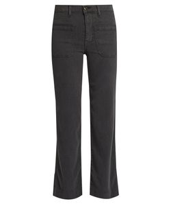 The Great | The Cropped Mariner Corduroy Trousers