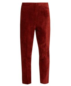 Golden Goose Deluxe Brand | Kenzie Cropped Corduroy Trousers