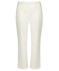 Adam Lippes | Cropped Stretch-Cady Tuxedo Trousers