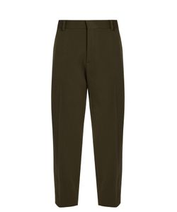Maison Margiela | High-Rise Cropped Wool-Blend Trousers