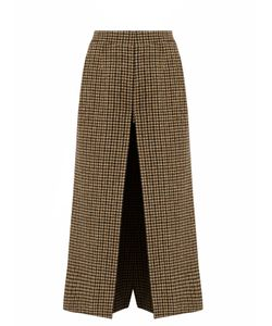 Saint Laurent | Wide-Leg Wool-Tweed Culottes