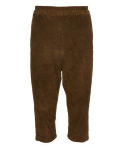 By Walid | Roy Suede Cropped Trousers