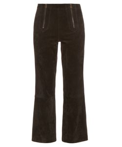 M.i.h Jeans | Arrow Suede Cropped Trousers