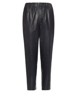 The Row | Arez Leather Trousers