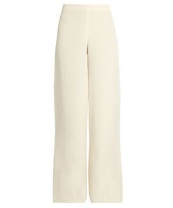 Ryan Roche | Wide-Leg Silk Trousers
