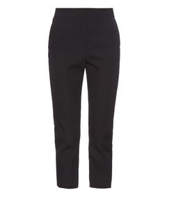 Balenciaga | Back-Belt Wool Cropped Trousers