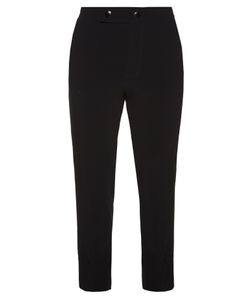 Marni | Straight-Leg Stretch-Crepe Trousers