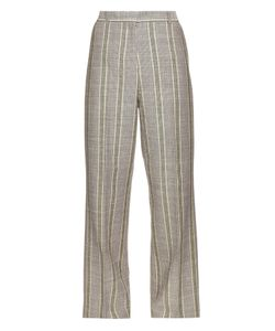 ACNE STUDIOS | Obel Cotton And Linen-Blend Trousers