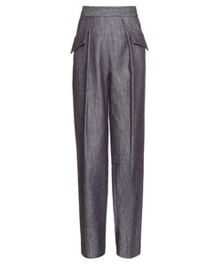 Adam Lippes | Straight-Leg Cotton-Twill Trousers