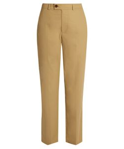 Isabel Marant | Licia Straight-Leg Cotton-Poplin Trousers