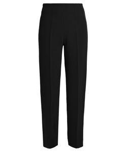 Emilia Wickstead | Arabella Wool-Crepe Slim-Fit Trousers