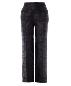 Mary Katrantzou | Bridge Jacquard Wool Trousers