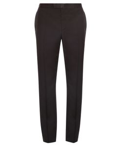 Alexander McQueen | Slim-Fit Wool And Mohair-Blend Tuxedo Trousers