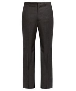 BOTTEGA VENETA | Slim-Fit Wool-Blend Flannel Trousers