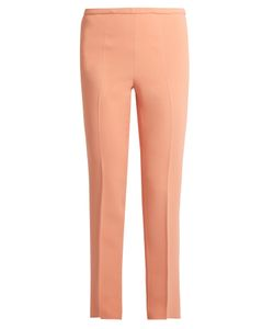 Rochas | Slim-Fit Stretch-Cady Trousers