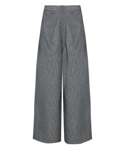 Rosie Assoulin | Ziggy Hounds-Tooth Wool-Blend Trousers
